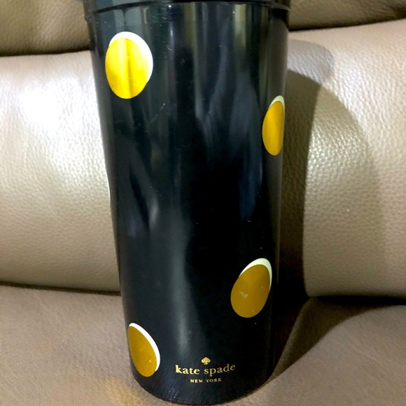 Kate Spade insulated scattered dots tumbler